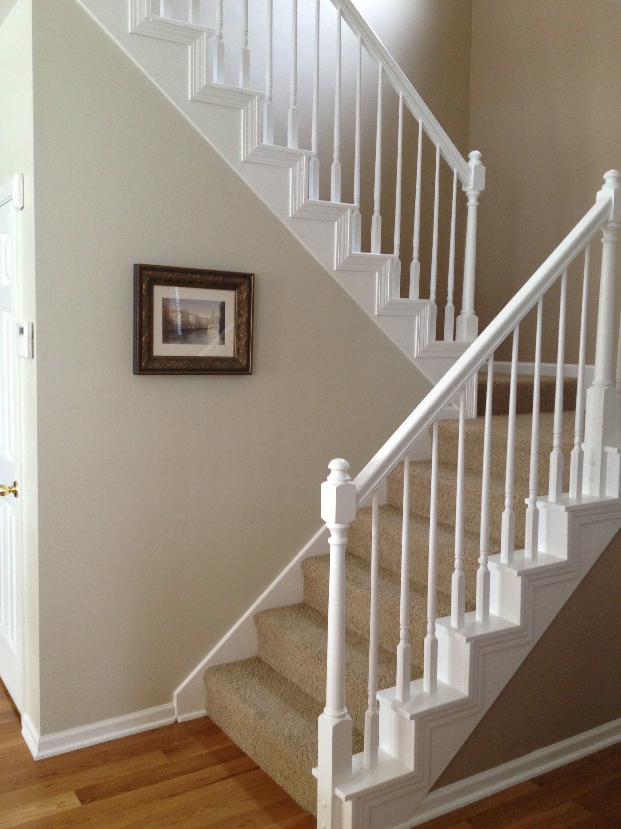 Home Tour: The Staircase and Hallway | GREEN DOOR DESIGN CO.