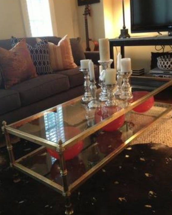 Someone Buy This: Hollywood Regency Cocktail Table